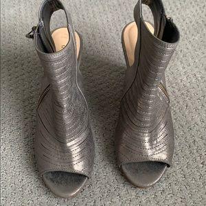 Women Dollhouse Metallic Shoes